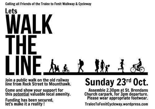 Walk the Line Tralee Fenit cycleway