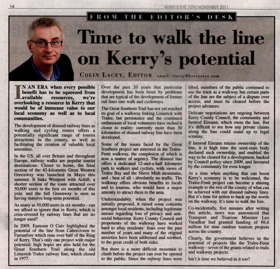 Kerrys Eye editorial