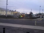 19th Jan - The fence at Rock St. being removed