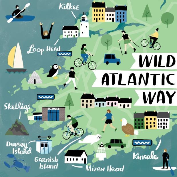Wild Atlantic WayMap